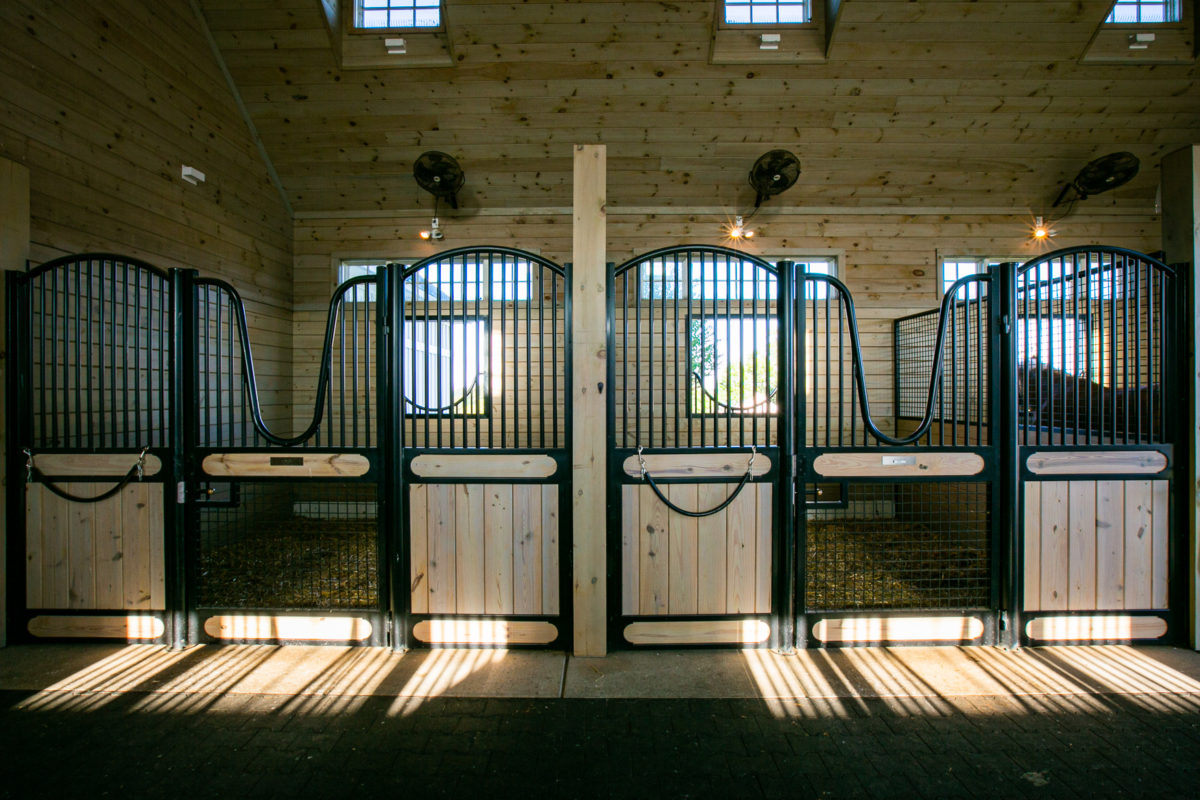 Metal Fabrication for Equestrian Horse Stalls