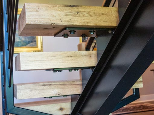 Steel Stair Railings