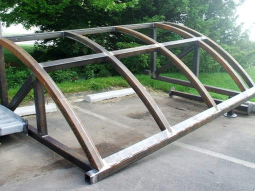 Custom Steel Canopy
