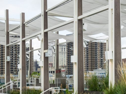 Metal Fabricated Steel Pavilion - Pier 17