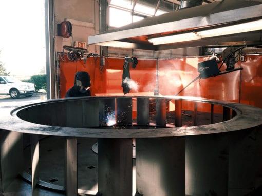 Custom Steel Water Wheel