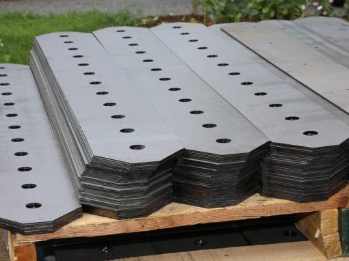 Laser Cut Steel Sheets