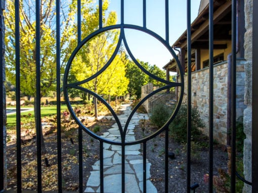 Residential Exterior Steel Gate