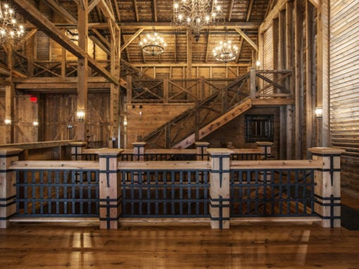 Star Barn Staircase Spindles