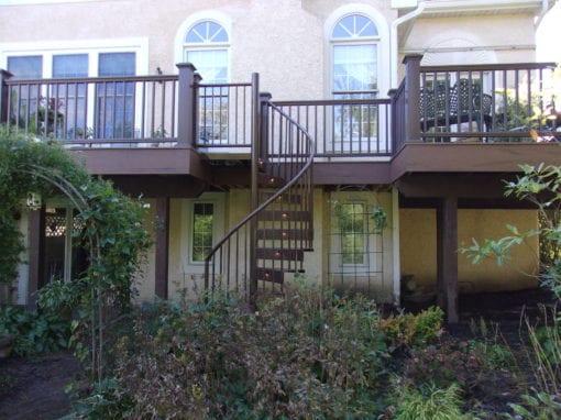 Deck Spiral Staircase