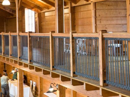 Steel Railing in Event Venue