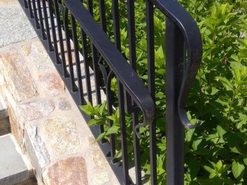 Custom Steel Stair Railings