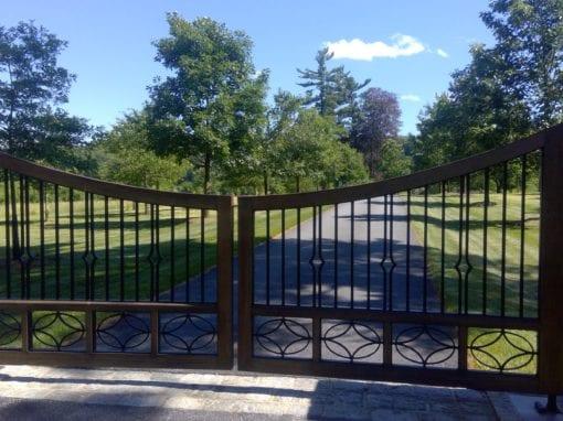 Steel Driveway Gate