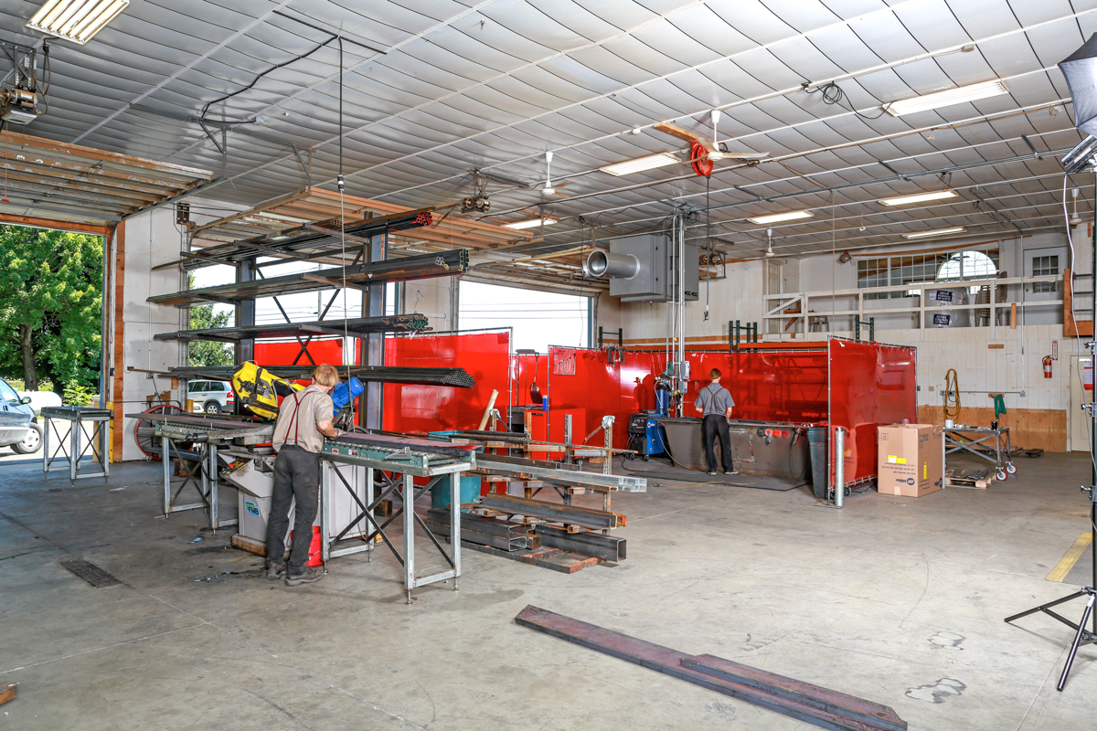 Steel fabrication company located in Lancaster, PA