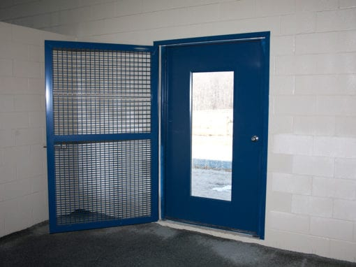 Blue Horse Steel Stall Door