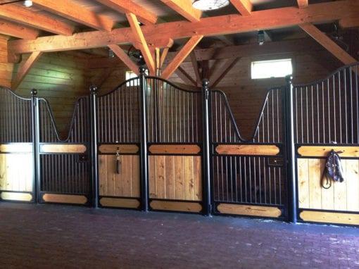 Custom European Horse Stalls