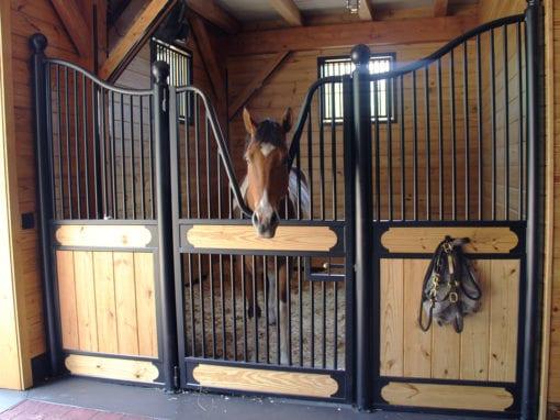 Custom European Horse Stall