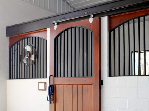 Diamond Creek Horse Stall Door