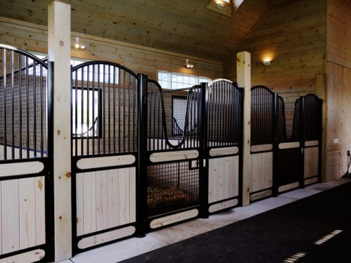 Hinged Horse Stalls