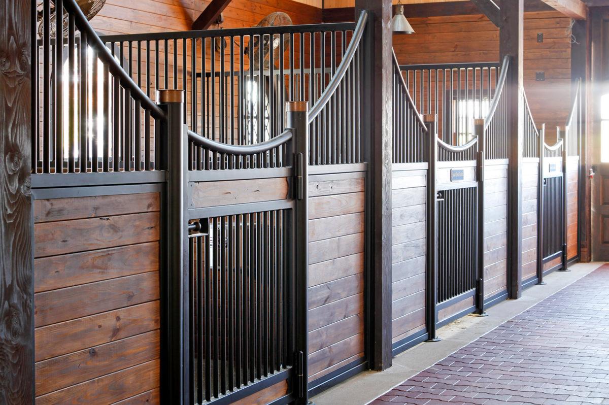 Custom Horse Stalls Make A Barn A Home Mid Atlantic Steel Fabrication