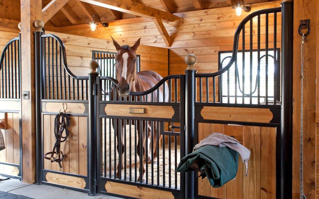 Custom Horse Stalls Make a Barn a Home