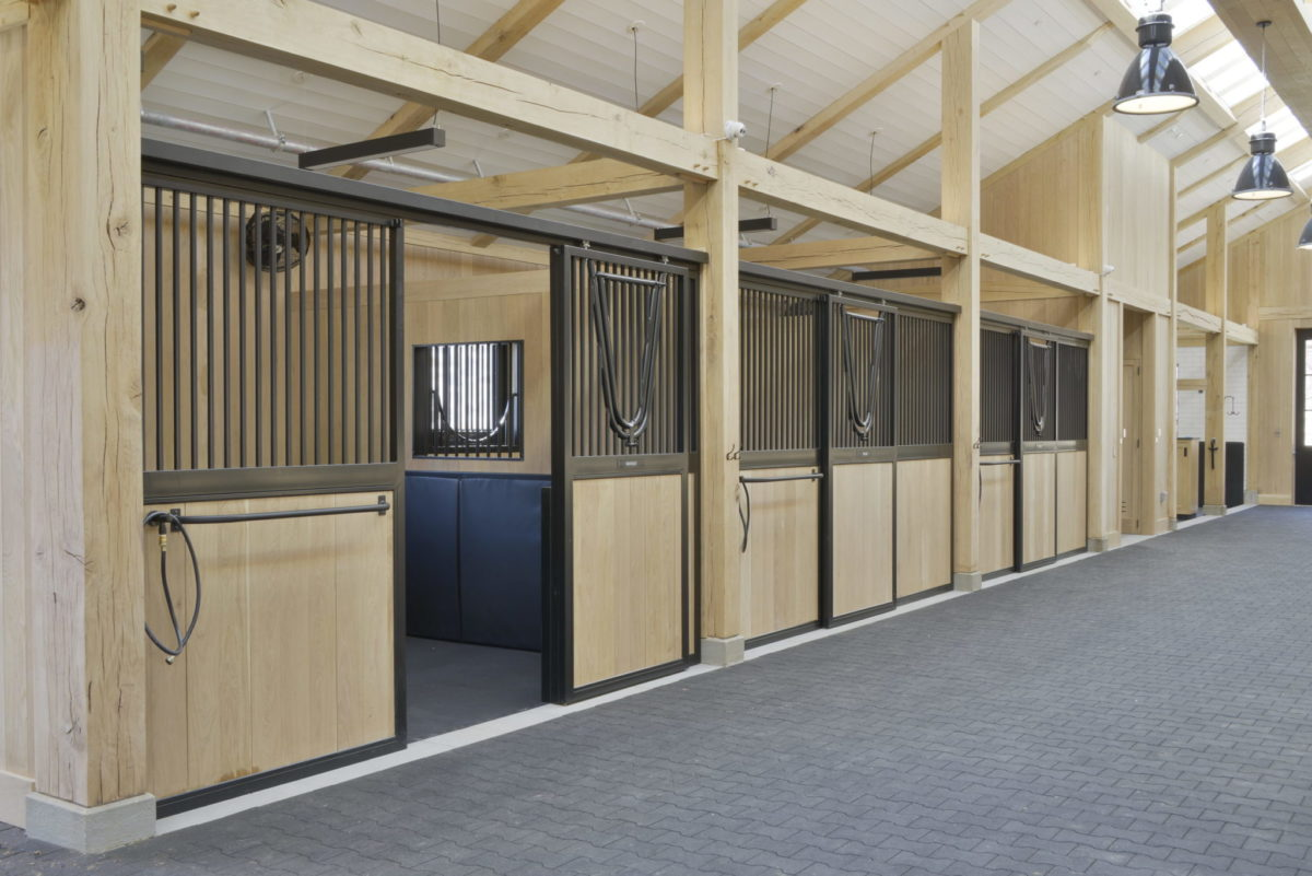 Steel Fabrication Company Designs Equestrian Horse Stalls