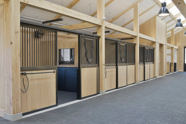 Steel Fabrication Company Tackles Custom Equestrian Horse Stalls