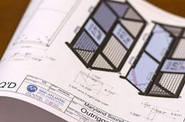3-D CAD Design & Powder Coating