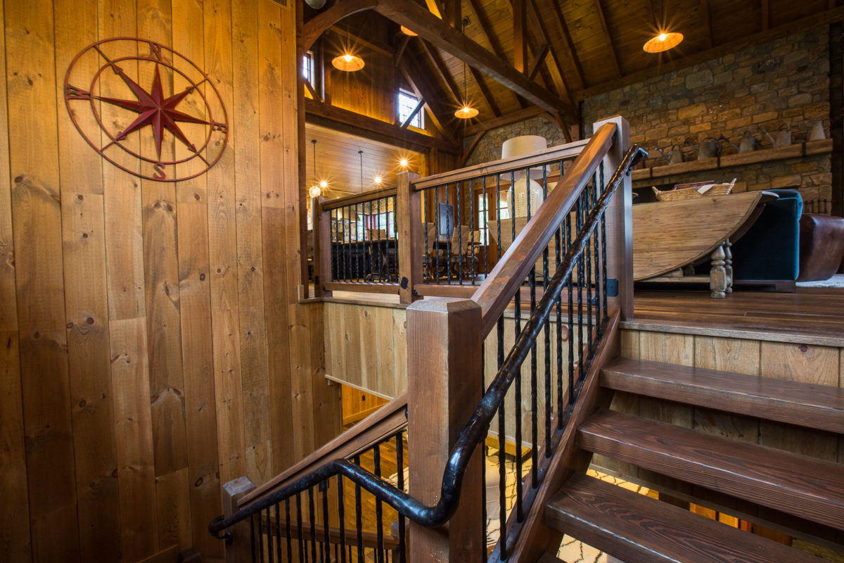 Interior Stair Railing Systems